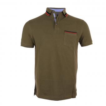 POLO T-SHIRT - 171001 Olive Green | S