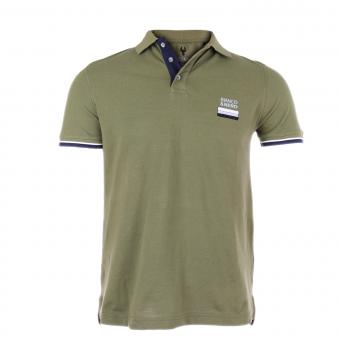 POLO T-SHIRT - 171005 OLIVE | S