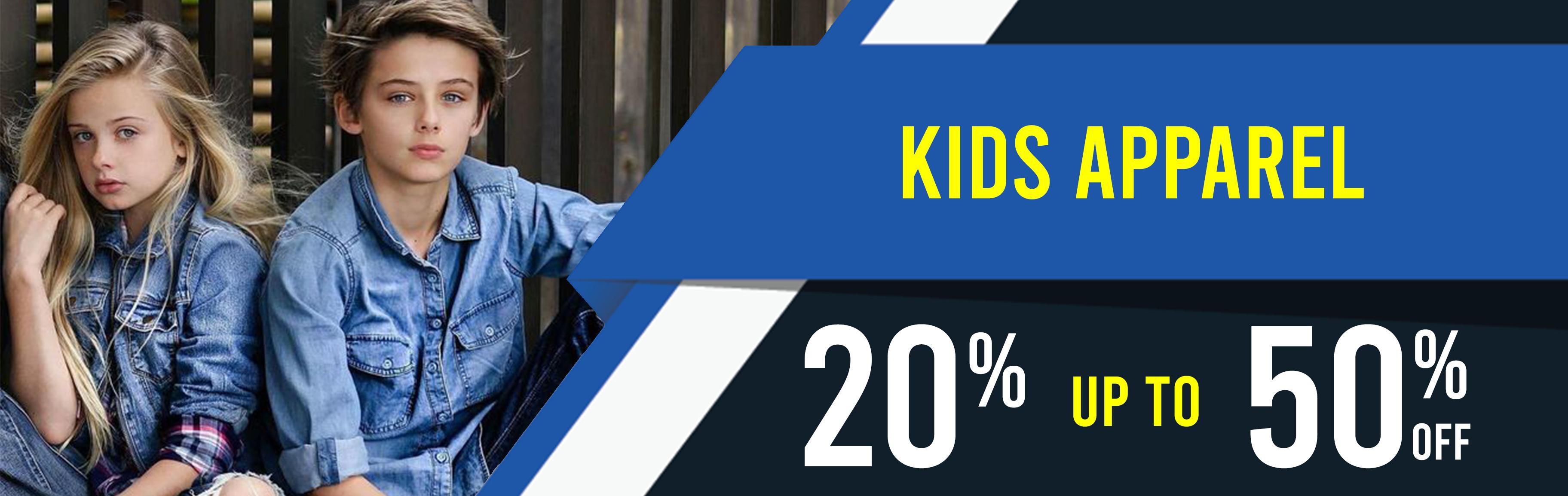 BULK OFFER BUY 3 GET 1O% OFF KIDS APPAREL