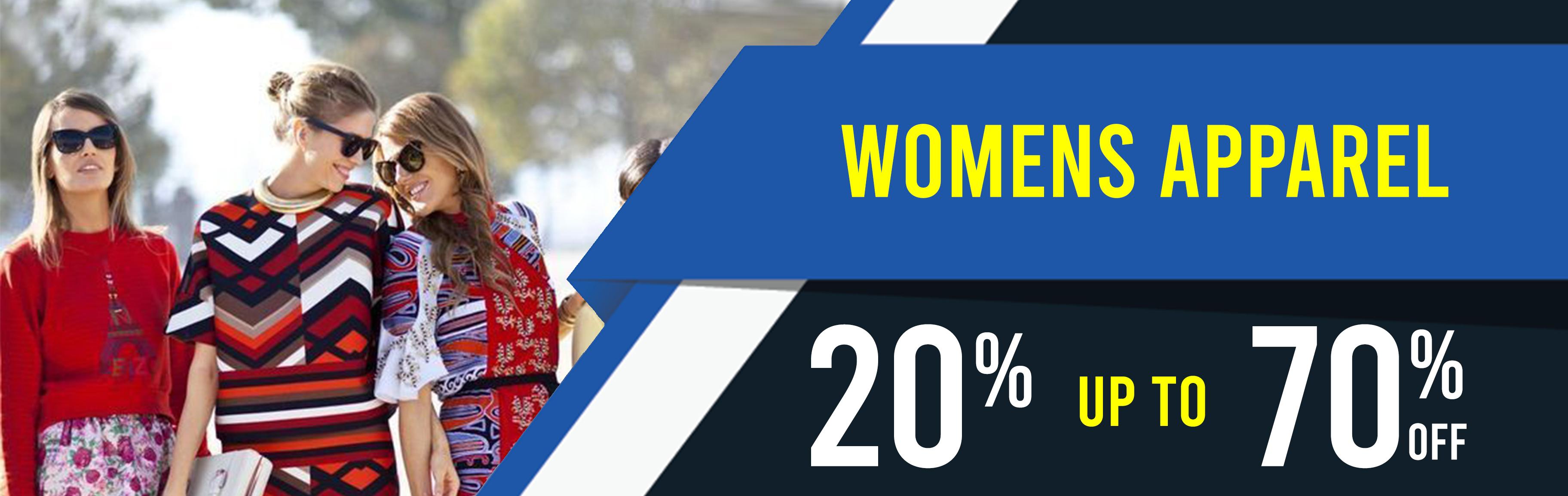 BULK OFFER BUY 3 GET 1O% OFF WOMENS APPAREL